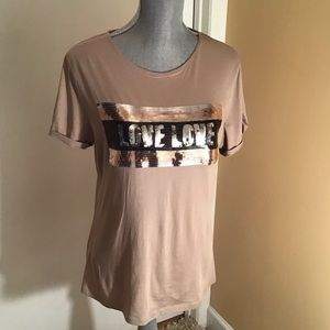 New York & Co graphic T-shirt, Size M